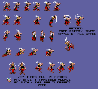 Asterix for SNES.