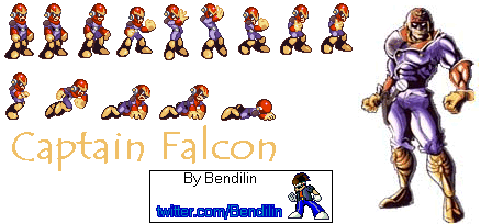 Captain Falcon by Bendilin